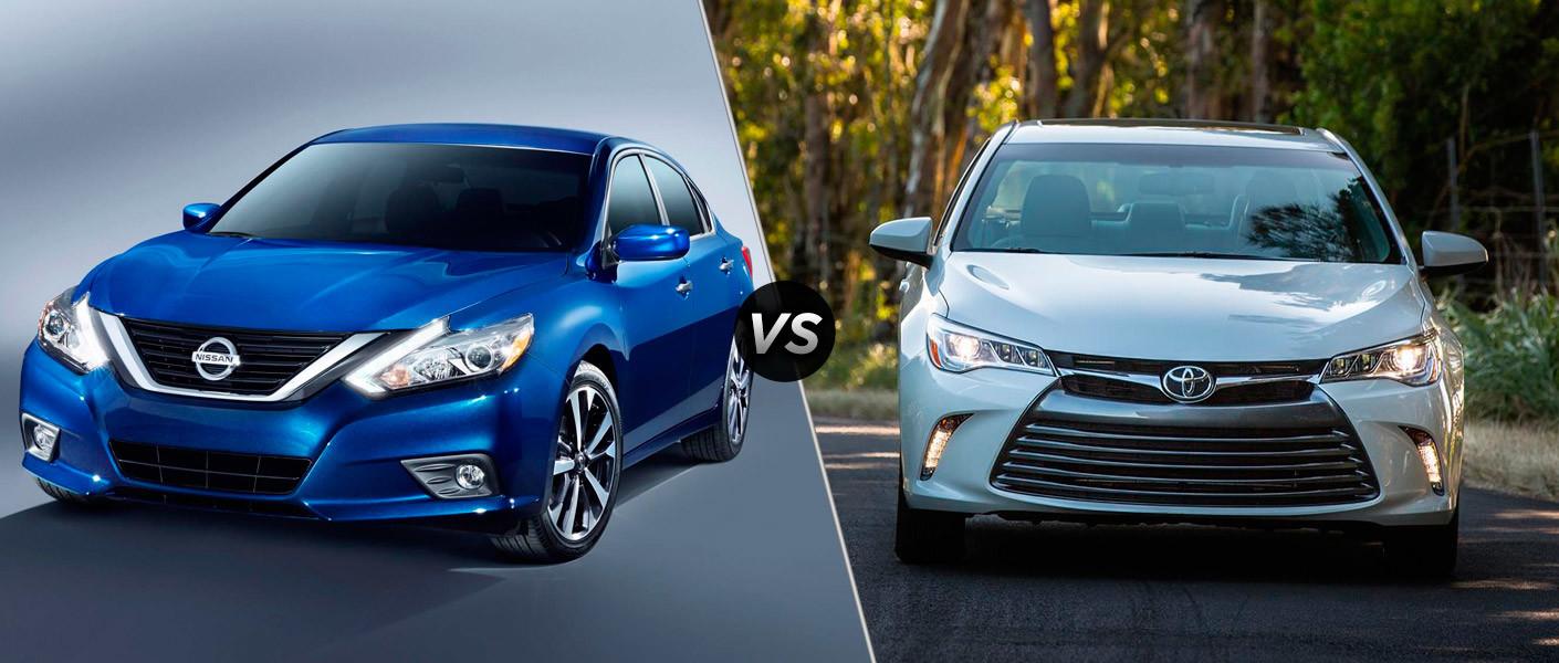 2016 Nissan Altima vs 2016 Toyota Camry