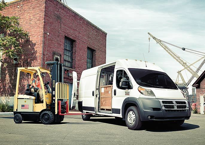 2016 Ram ProMaster Cargo Van near Knoxville at Farris Motor Company
