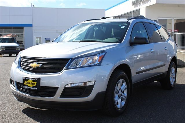 2016 Chevrolet Traverse near Everett at Chuck Olson Chevrolet