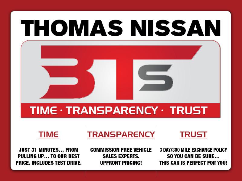 Thomas Nissan of Joliet - Time, Transparency, Trust