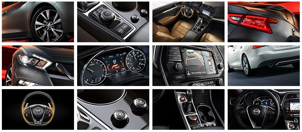 2017 Nissan Maxima Interior & Exterior Features