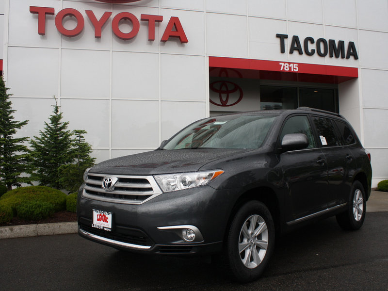 Toyota Highlander Service in Tacoma