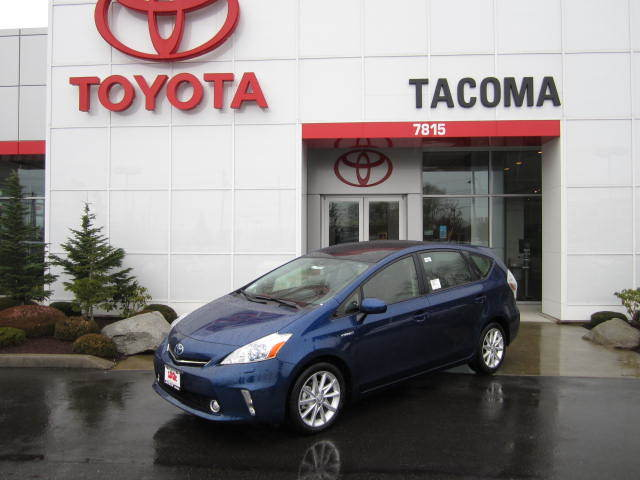 Toyota Prius v Service near Lacey