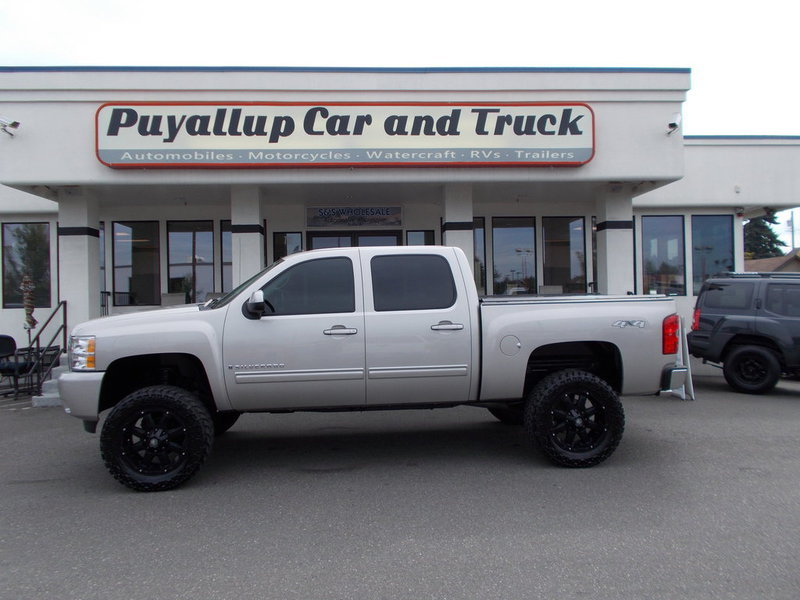 Used Chevy Silverado For Sale >> Used Chevrolet Silverado For Sale In Puyallup Puyallup Car And Truck