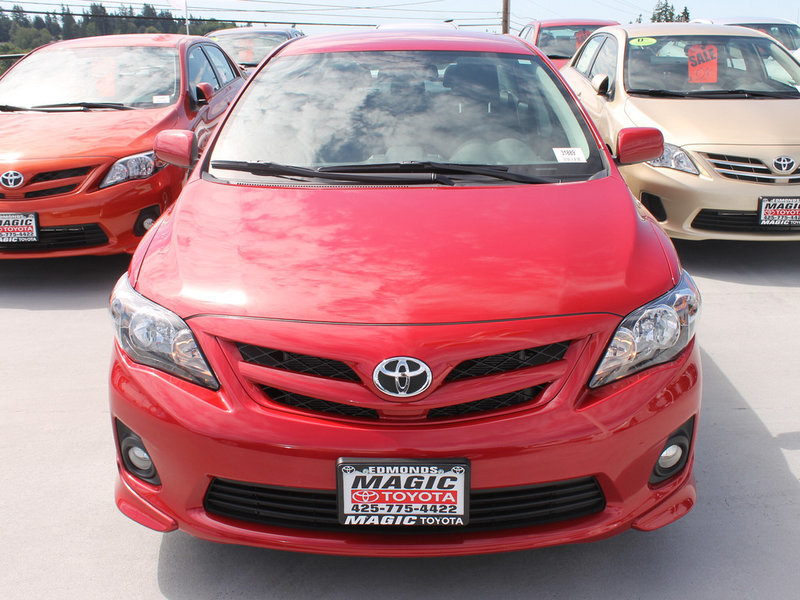 Toyota Corolla in the Seattle Area at Magic Toyota