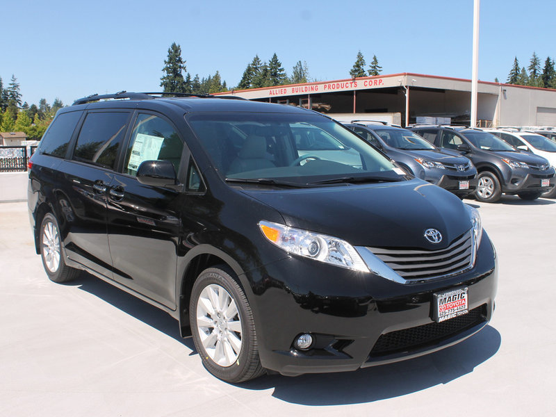 One-Owner Toyota Sienna for Sale near Seattle at Magic Toyota