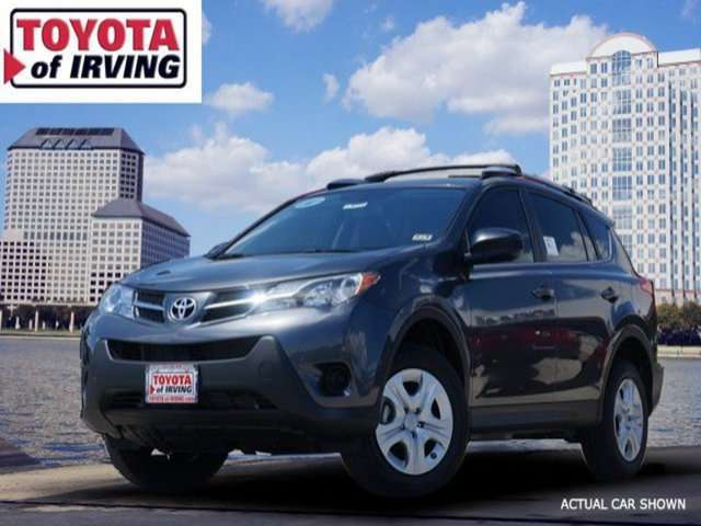 Lease a 2014 Toyota RAV4 in Irving, TX