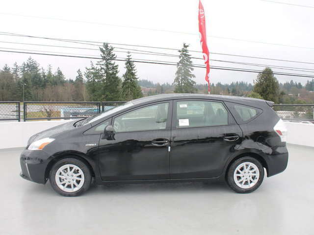 Toyota Prius v in the Seattle Area at Magic Toyota