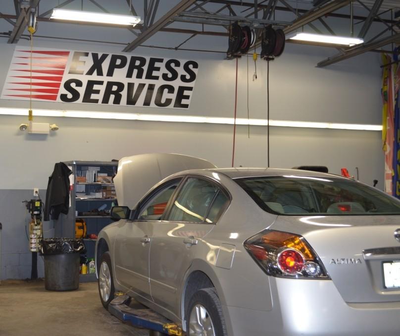 Express service windsor nissan for Freehold motor vehicle inspection station
