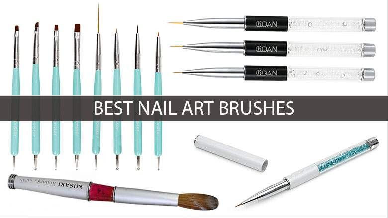 Art brushes for nails