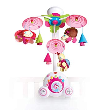 Pink tiny love mobile