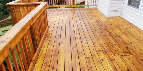 Permanent deck sealer