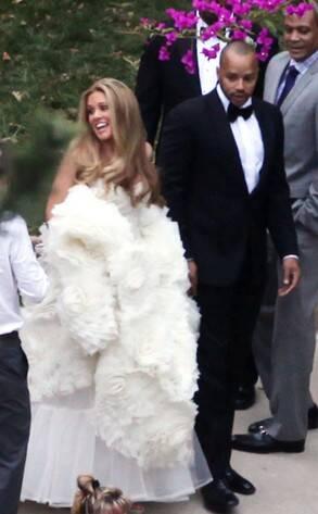 Cacee cobb donald faison wedding