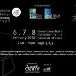 idf Oman 2018 – ufi Approved International Interior Design Furnishing Expo