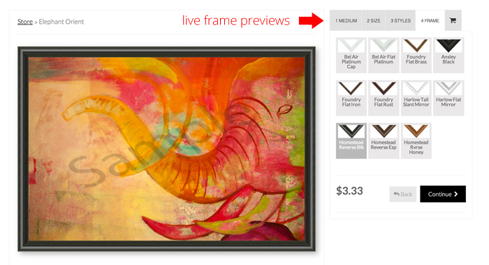 Sell your printing services online software for photo for Best sites for selling art