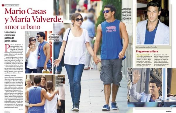 Марио Касас и Мария Вальверде