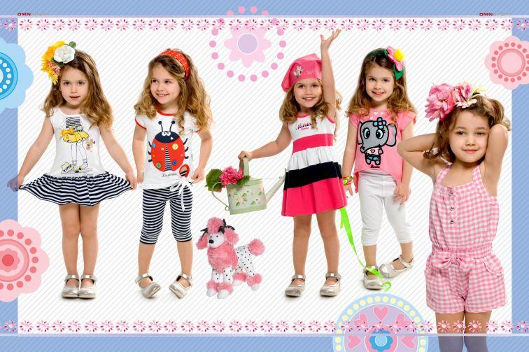 Рекламный баннер детского магазина одежды
