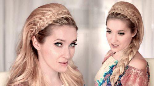 Собрать волосы красиво