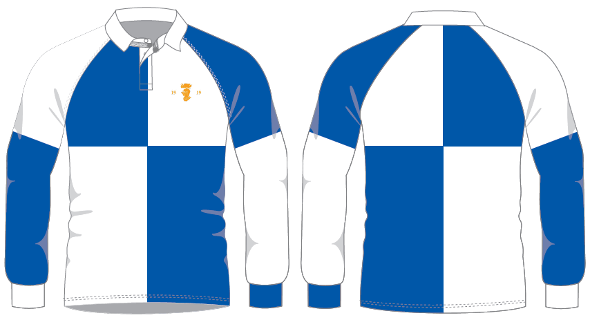 Traditional Long sleeve rugby shirt