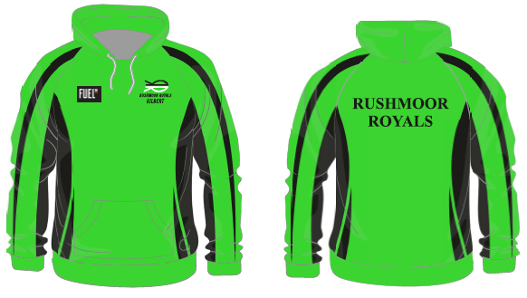 Sublimated slip over hoody