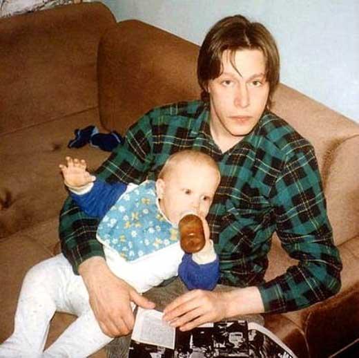Михаил Ефремов и сын Никита 1