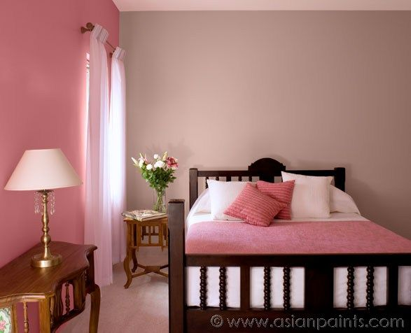 Asian paints pink carnation 8080
