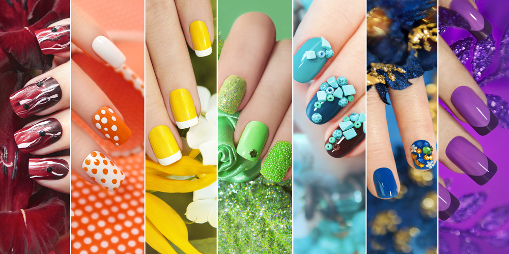 Different kinds of acrylic nails