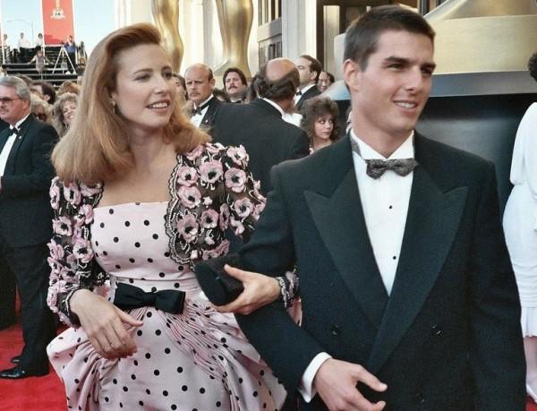 Том круз и его жена бывшая