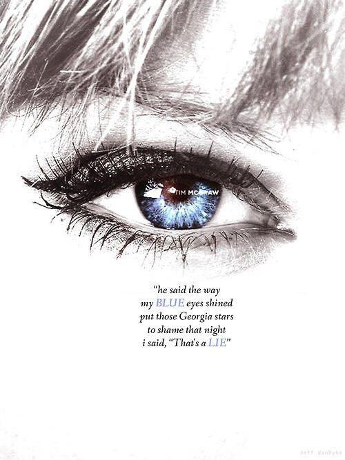 Taylor swift blue eyes lyrics