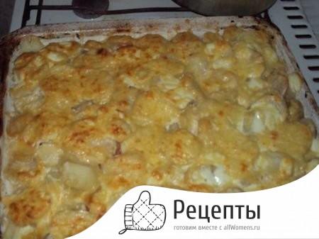 Сыр сметана картошка