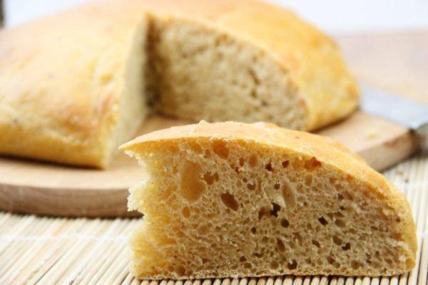 Бездрожжевой хлеб в домашних условиях фото