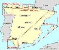 Испания места серфинг