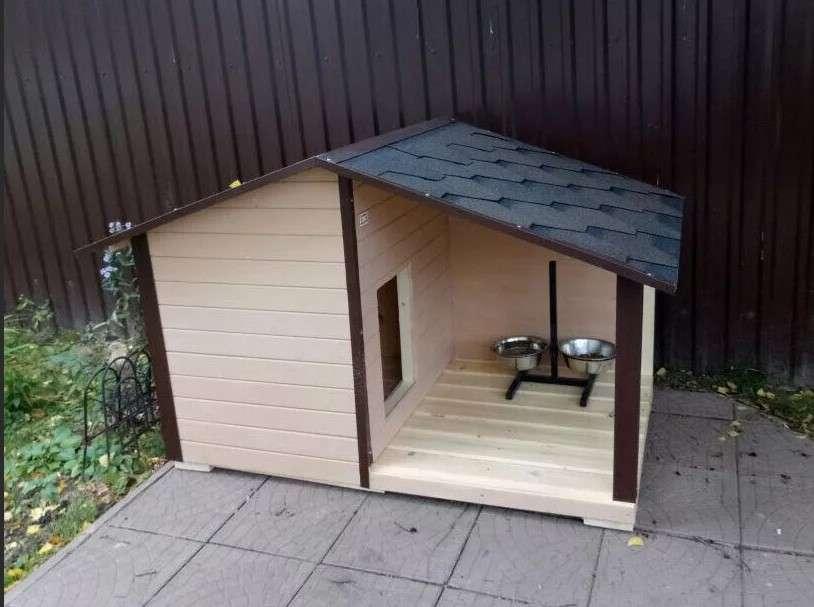 Фото будка для собаки своими руками