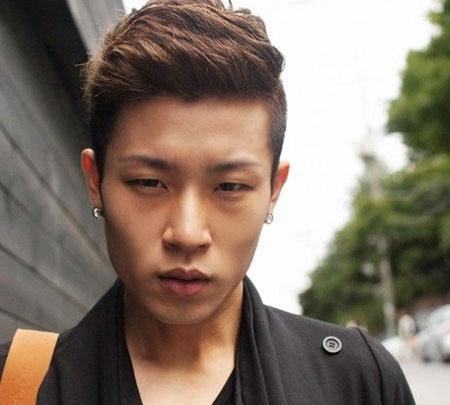1. Short and Slick trendy Korean Hairstyles