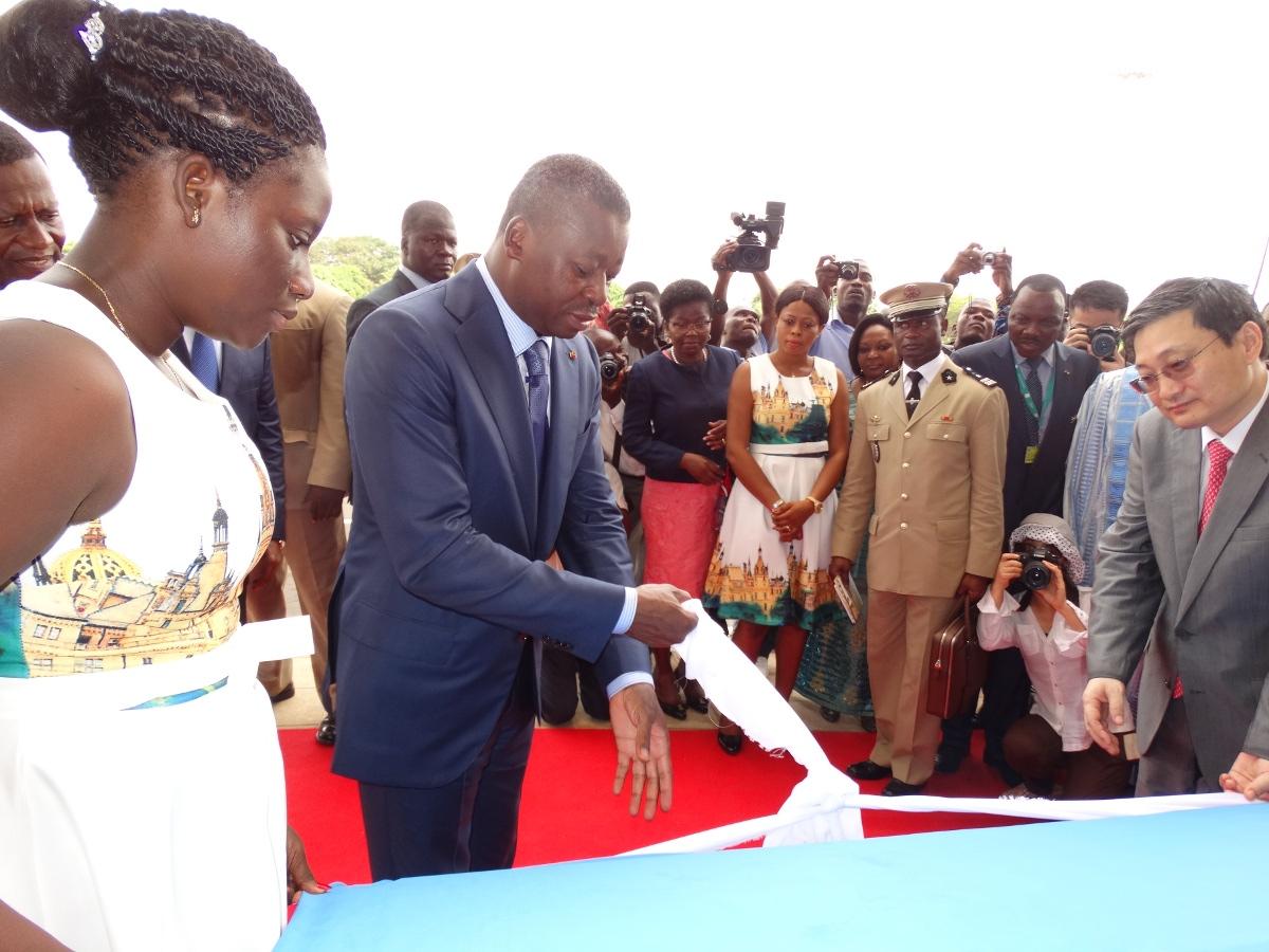 Inauguration de la nouvelle aérogare de Lomé