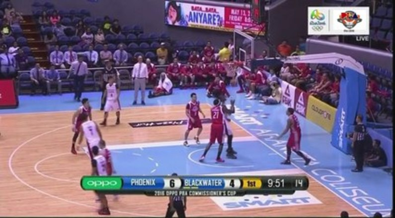 Phoenix VS Blackwater March 30 2016