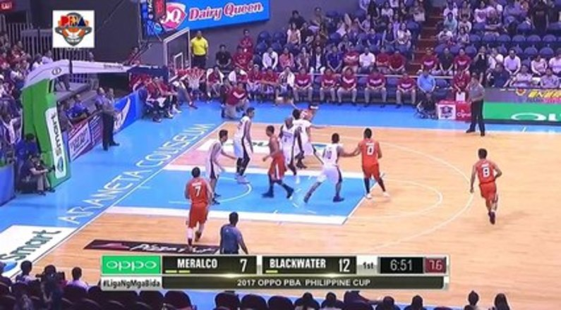 Meralco VS Blackwater November 27 2016