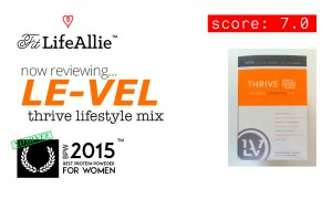 Level Thrive Protein Reviews: Not Quite As Good as Shakeology