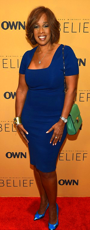 Dieting together: Oprah Winfrey and her best friend Gayle King are ...