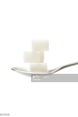 Sugar Cubes On Teaspoon Stock Photo | Getty Images