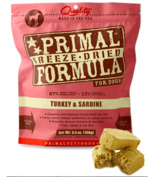 Home > Dog > Dry Food > Primal > Primal Canine Turkey & Sardine ...