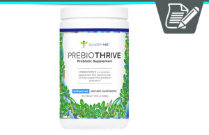 Gundry MD PrebioThrive Review - Premium Pure Prebiotic Product?