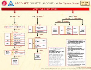 AACE 2013 Diabetes Treatment Algorithm