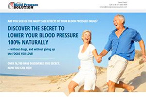 "The Blood Pressure Solution e-book unveils 19 ""master ingredients ..."