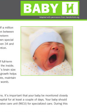 NICU Parent Education Resources