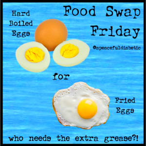 Food Swap Friday – Eggs – A Peaceful Diabetic
