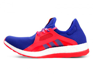Adidas - Pureboost X women's running shoes (violet/red) - buy it at ...