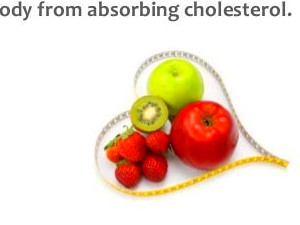 Foods to lower your cholesterol levels