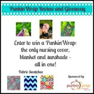 PunkinWrap - Review and Giveaway - Nursing cover, blanket, and ...