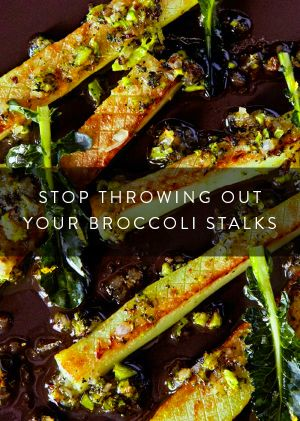 Wait! Don't Throw Out Those Broccoli Stalks | Olives, The ...
